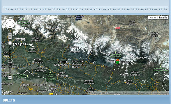 Mountains Google Maps Map Himalayas Mountains