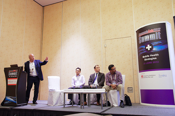 Peter Ohnemus panel speaker at the CommunicAsia 2012 conference