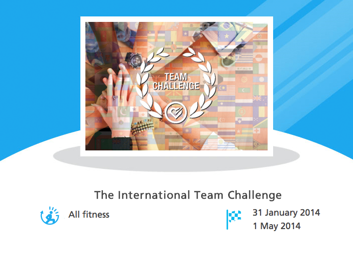 The International Team Challenge
