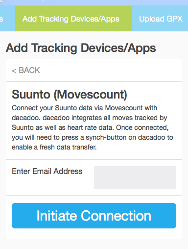 Suunto-initiate-connection