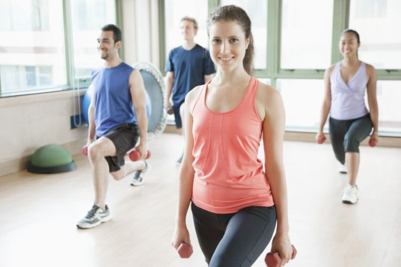 Getting fit together - Image credit: Thinkstock/iStock
