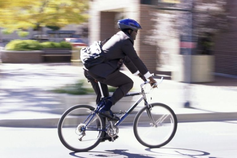 Five ways to keep safe when cycling to work - Image credit: Thinkstock