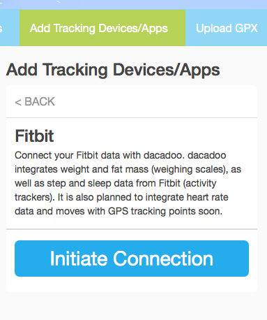 Fitbit-initiate-connection
