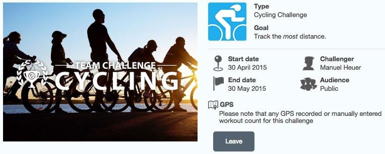 dacadoo Cycling Challenge
