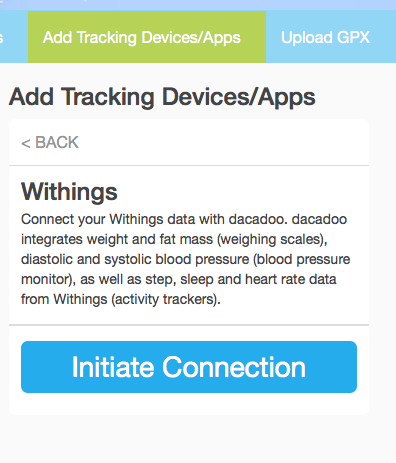 Withings-initiate-connection