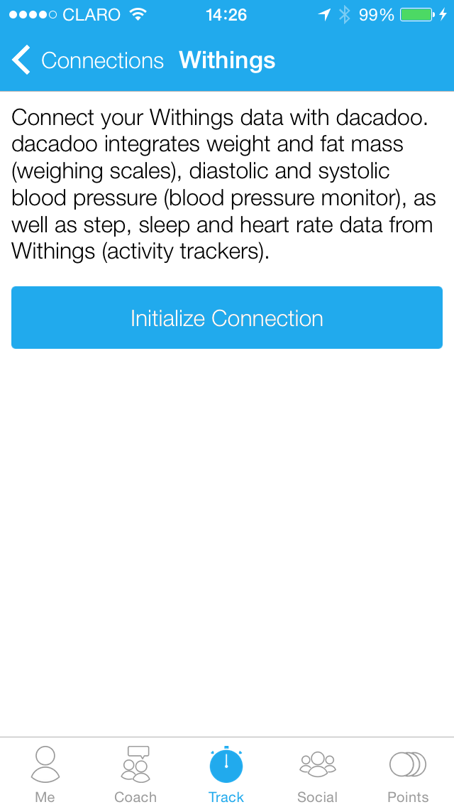 Withings start