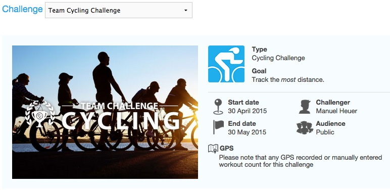 Team Cycling Challenge