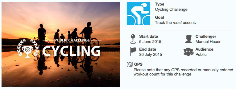 Track the most ascent Cycling Challenge_Header