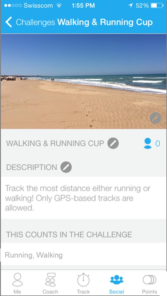 Challenge dacadoo walking