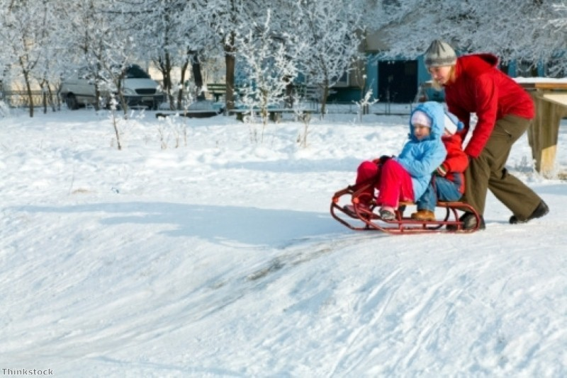 Fun winter family activities