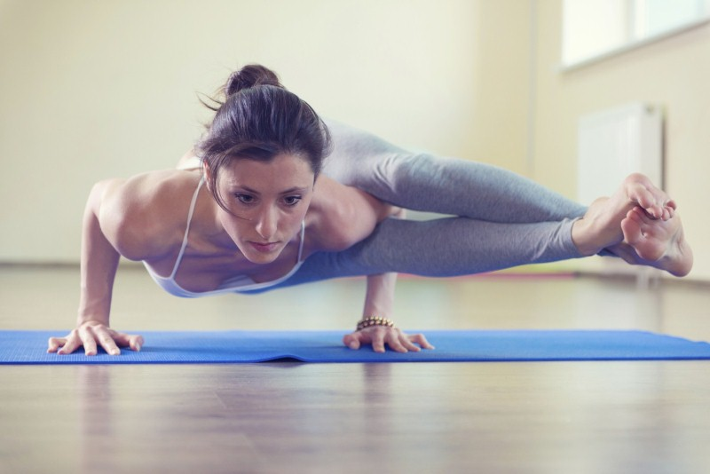 Yoga can help you reduce stress. Image credit: Thinkstock