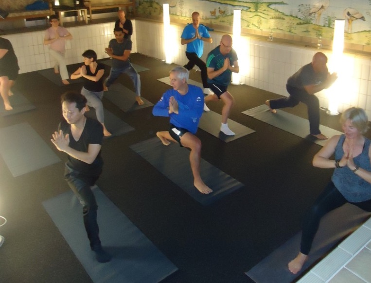 dacadoo winter yoga session