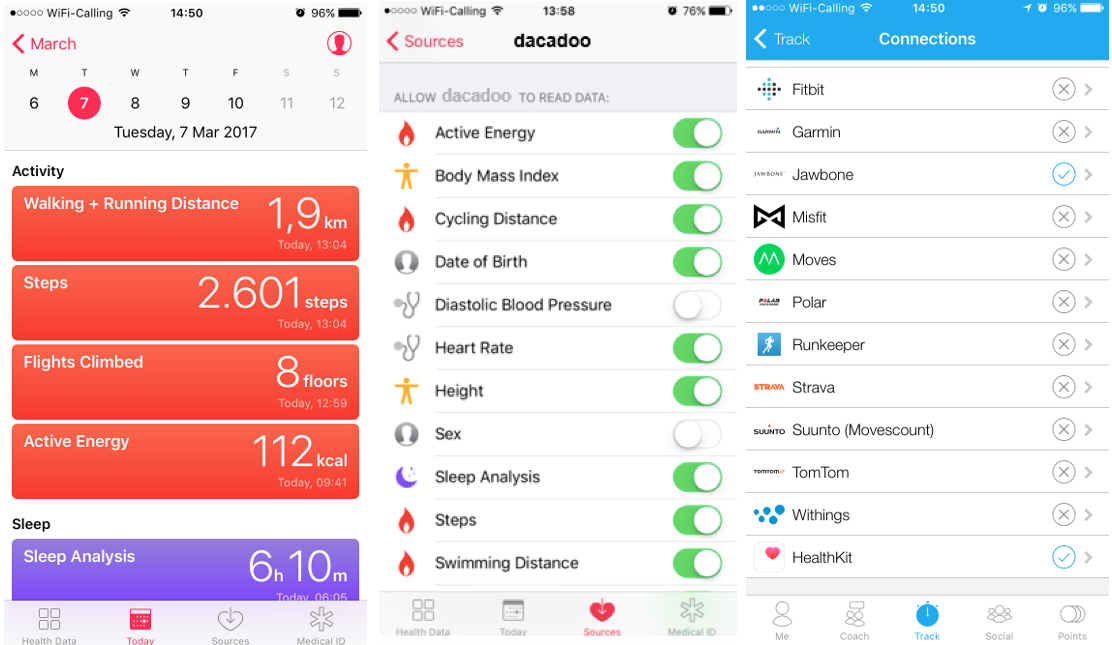 Image: dacadoo is now HealthKit enabled